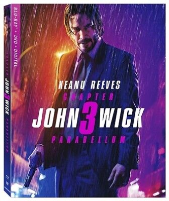 John Wick: Chapter 3 - Parabellum 08/19 (used) Blu-ray Only Disc Please Read