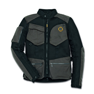 New Spidi Ducati Scrambler Urban Raid Jacket Men's Large Black/Grey #981036805