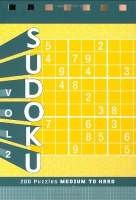 `Pitkow, Xaq`-Sudoku Puzzle Pad (US IMPORT) BOOK NEW