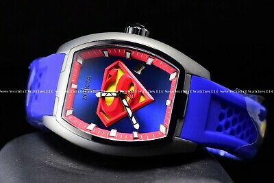 Invicta Men's 42mm Limited Edition DC Comics SUPERMAN Automatic Blue Tone Watch