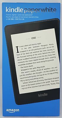 Amazon Kindle Paperwhite 2018 8GB with Special's Available, Black - Nip