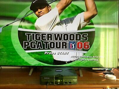 "Xbox debug kit playable  """" Tiger Wood PGA Tour 06 """" Games Console collectable"