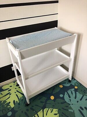 Excellent Condition White Boori Urbane Baby Change Table