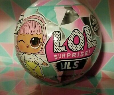 L.O.L. Surprise! Lils Winter Disco lol MGA Doll Series 1 2019 NEW Little Sisters