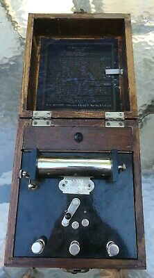 Antique Induction Coil Medical Electrotherapy Shock Machine medical quackery
