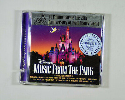 """Disney's """"Music from the Park"""" CD of Disney songs by various artists"""