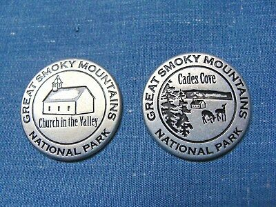 GREAT SMOKY MOUNTAINS NATIONAL PARK Collectible Token - Cades Cove - NPS - New