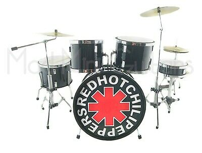 Miniature Drum Kit Set RED HOT CHILI PEPPERS