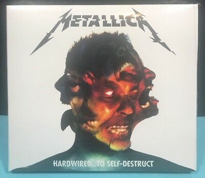 METALLICA  HARDWIRED...TO SELF-DESTRUCT 2016  2 CD Set  New Factory Sealed (G)