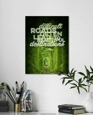 Digital Image Picture - Motivational Quotes Photo - Free Delivery / Shipping