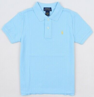 POLO RALPH LAUREN Boys' Kids' Polo Shirt, Hammond Blue, sizes 5 years