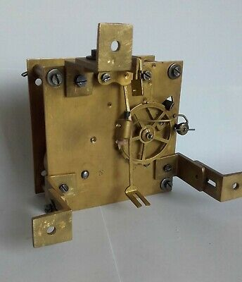 French Wall Clock Movement with damage, for Spare Parts
