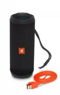 JBL Flip 4 Waterproof Portable Bluetooth Speaker - Black NEW SEALED!