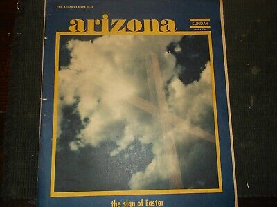 Vintage Newsp.Arizona Rep.Sup. April6,1969 Car Fever-Hopi Indian-Barbershops