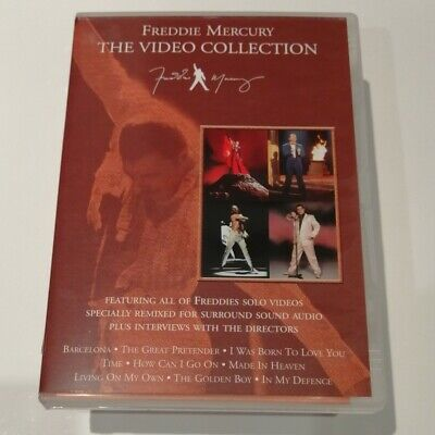 Freddie Mercury - The Video Collection DVD (2000 - Queen)