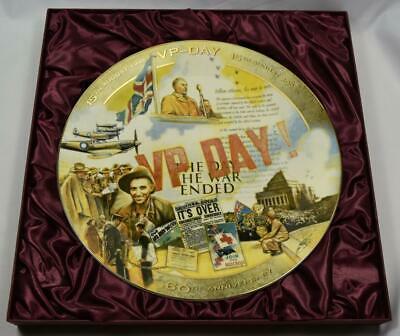 "Collectors Plate Large - ""Victory in the Pacific"""