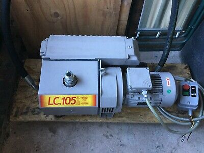 Lafert Lc105 Super Heavy Duty Industrial Vacuum Pump 3 Phase Excellent Condition