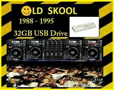 Old Skool House Classics 1988-1998 on 32GB USB Drive MP3 DJ Collection Piano