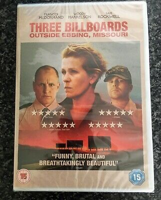 Three Billboards Outside Ebbing, Missouri [DVD] [2018]- Region 2