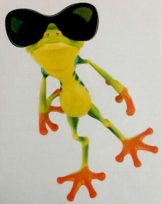 Beauty Pose Frog Car Stickers Truck Window Decal Graphics Stickers Car Nice