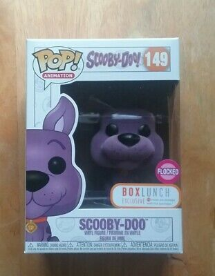 Funko Pop Animation #149 Flocked Purple Scooby-Doo Box Lunch Exclusive