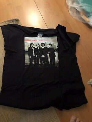 Bon Jovi T-Shirt  One Wild Night