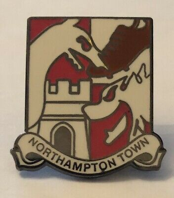 Northampton Town Vintage Collectable Classic football pin badge