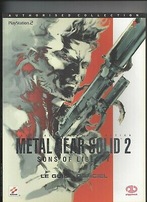 Guide stratégique  Metal Gear Solid 2  guide officiel complet en VF