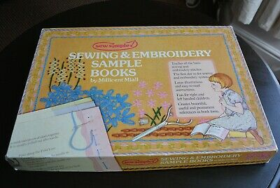 Great Vintage Child's Sewing & Embroidery Kit - Sew Simple - Millicent Miall