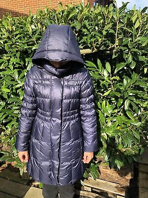 The North Face Down filled women's coat. Dark Blue, Size M