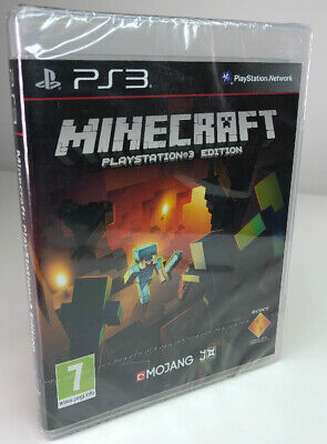 Minecraft - PlayStation 3 Edition - Brand New & Sealed Game