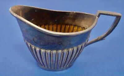 Antique Victorian Electroplated Silver Britannia Metal Milk Jug
