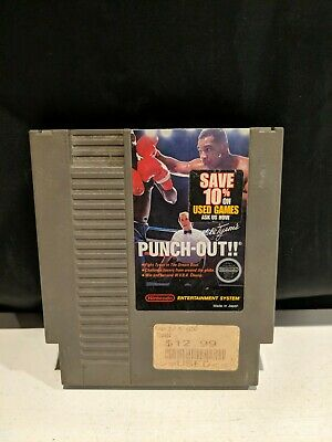 Mike Tyson's Punch-Out (NES 1987) Nintendo Cartridge Only