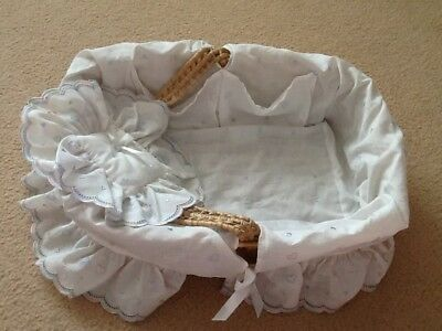 Vintage Baby Nursery Storage Basket - HARRODS