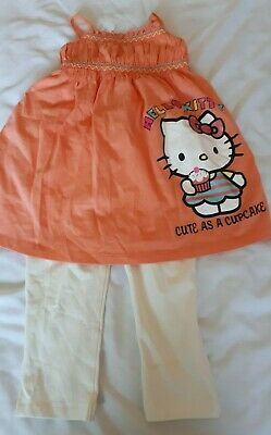 Hello Kitty Top and leggings set Age: -2-3 years