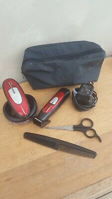 Babyliss Mens Super Crew Cut Hair Clipper Mains / Cordless Grooming With Trimmer