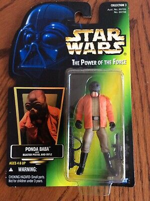 Hasbro Star Wars A New Hope Power of the Force Ponda Baba Action Figure