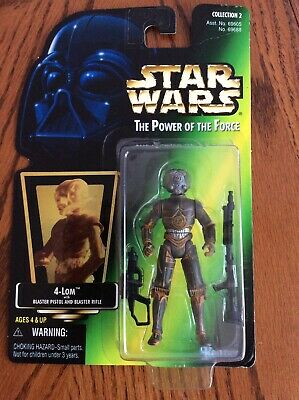 Hasbro Star Wars 1997 Power Of The Force Green Card Action Figure