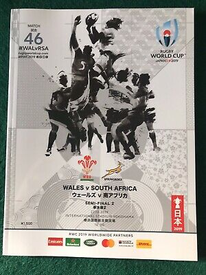 Japan Rugby World Cup Semi-Final  2019 Wales v South Africa