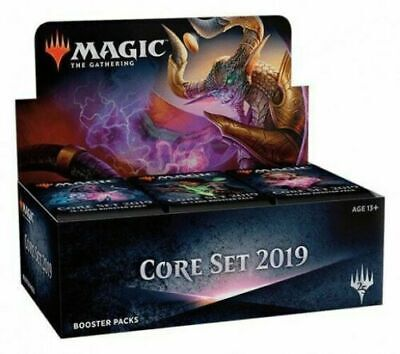Core Set 2019 M19 Booster Box Sealed  MTG Magic the Gathering