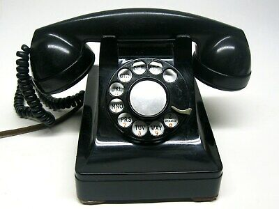 Vintage 1940's Bell System Western Electric F1 Rotary Phone Tested & Working