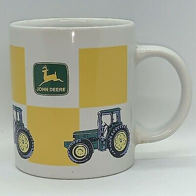John Deere Tractor Ceramic Coffee Mug New with Gibson Tag
