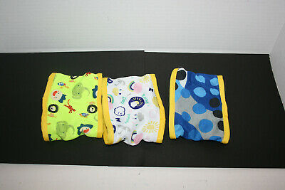 Washable Reusable Male Dog Belly Bands Wraps Diapers - 3pk
