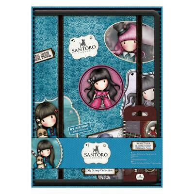 Santoro Gorjuss Girl Collectable Rubber Stamp Storage Case - Includes No. 1 Ruby