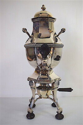 Samovar Metal Silver and Wood D' Ebony Punch lb Ou CB