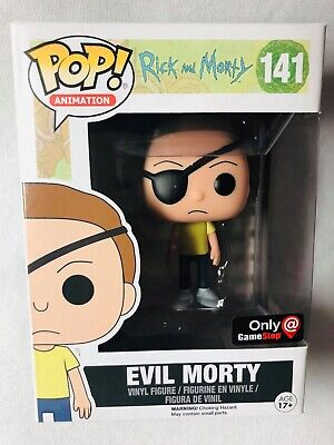 Rick and Morty Funko POP Evil Morty Exclusive GameStop Vinyl Figure #141