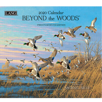2020 Lang Calendar BEYOND THE WOODS by Michael Sieve New Calender Fits Wall F...