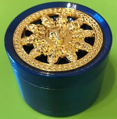 NEW LIMITED EDITION 55mm  Grinder Amsterdam Style 4 Part Metal,