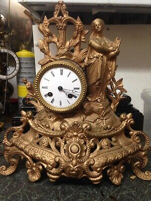 Beautiful Ormolu Clock