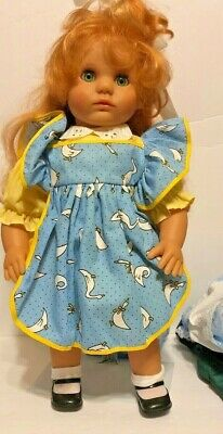 "20"" Vinyl Lissi Doll Made In Germany ""Marissa"" Limited Edition W/Box Wcoa ++"